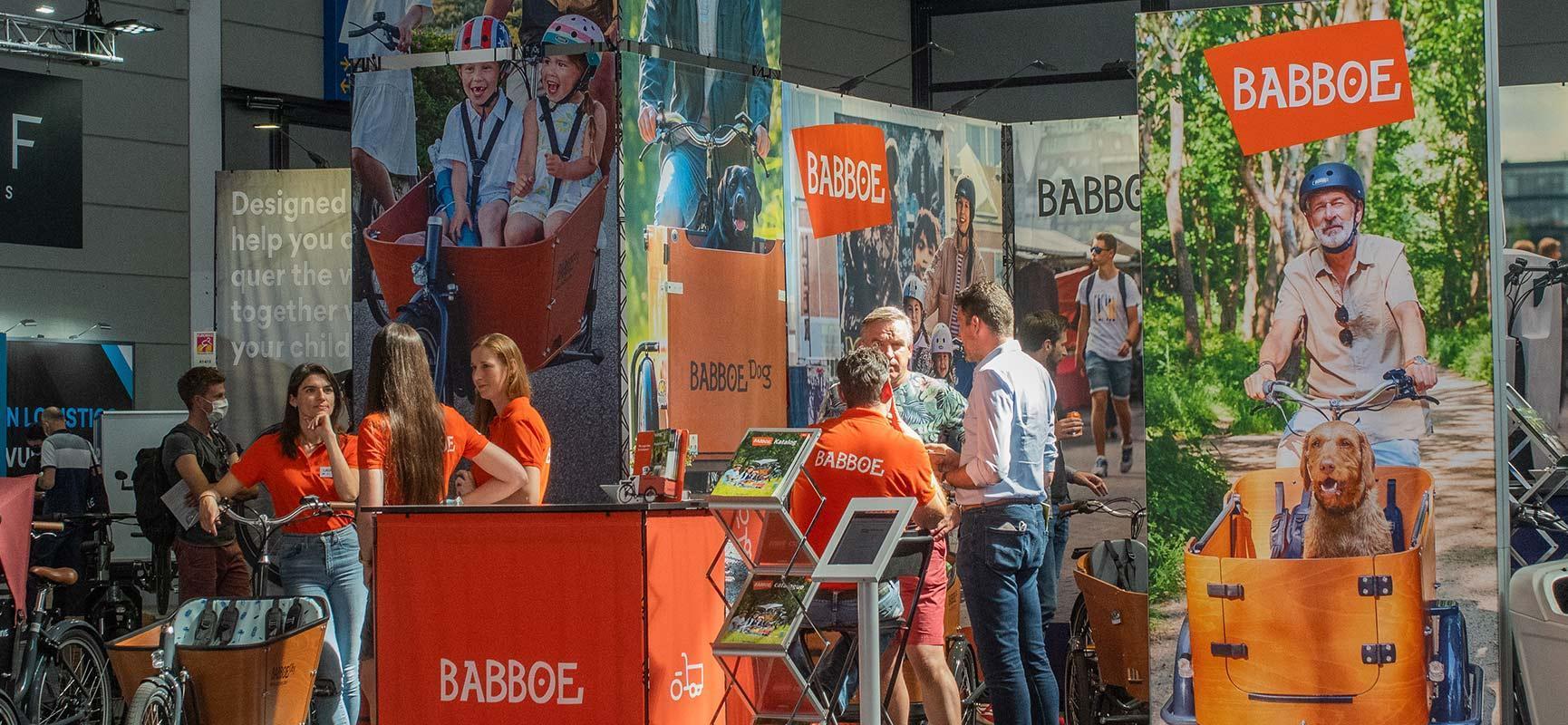 Babboe op Eurobike, de grootste fietsbeurs in Europa