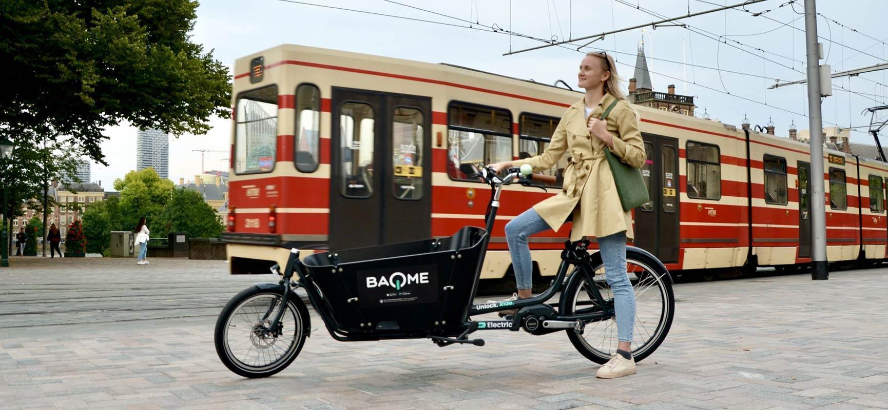 BAQME: Babboe bakfiets huren in Den Haag of Rotterdam