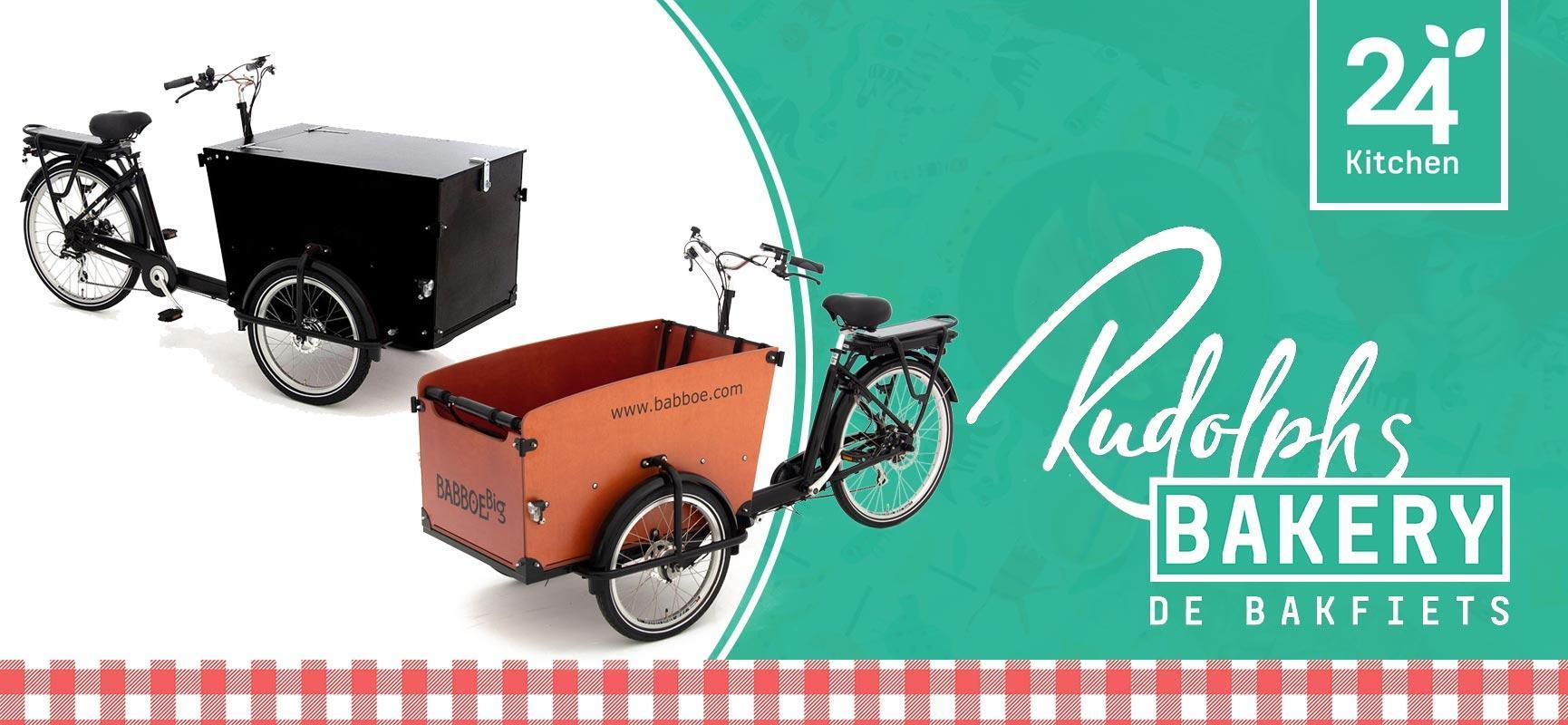 Win een bakfiets in samenwerking met 24Kitchen Rudolph's Bakery