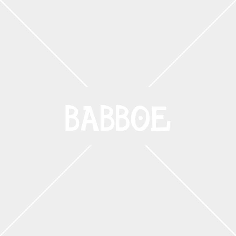 Yepp Maxi fietsstoeltje zwart | Babboe Slim