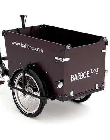 Babboe houtpakket Dog GWA donkerbruin