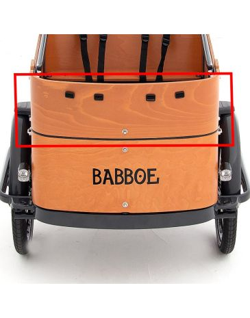 Babboe voorpaneel bovenkant Curve hout