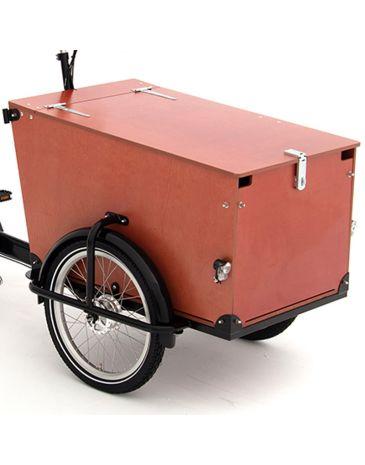 Babboe Pro houtpanelen Trike